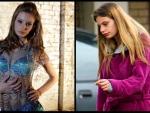 Former Australia's Next Top Model runner-up Cassi Van Den Dungen is trading designer frocks for dirty nappies