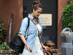 Jessica Alba: First Photo Since Delivering Baby Haven