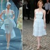 Jessica Chastain In Christian Dior Couture  The Debt New York Screening