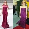 """Jessica Chastain In Oscar de la Renta – """"The Help"""" LA Premiere"""
