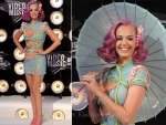 Katy Perry in Atelier Versace – 2011 MTV Video Music Awards