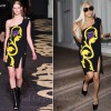 Sidewalk Style: Lady GaGa In Versace