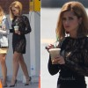 On The Set Of What to Expect When Youre Expecting With Cheryl Cole In Emilio Pucci