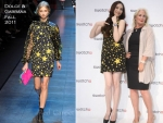 Pace Wu In Dolce & Gabbana – Swatch X Kidrobot Launch