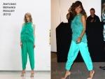 Rihanna In Antonio Berardi – 'Reb'l Fleur' London Fragrance Launch