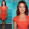 Scarlett Johansson In Roland Mouret  The Avengers Disneys D23 Expo