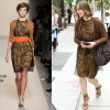 Sidewalk Style: Vera Farmiga In Bottega Veneta