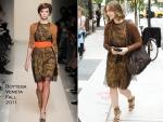 Sidewalk Style: Vera Farmiga In Bottega Veneta