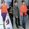 Sidewalk Style: Zoe Saldana's Diane von Furstenberg Blouse & J Brand Jeans