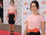 "Emily Blunt In Prada – ""Your Sister's Sister"" Toronto Film Festival Premiere"