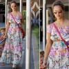 Sidewalk Style: Jessica Alba In Zimmermann