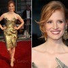 "Jessica Chastain In Vivienne Westwood – ""The Debt"" London Premiere"