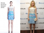 Kate Bosworth In Peter Pilotto – The Alexa Chung For Madewell Fall 2011 Collection Launch Party