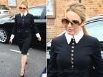 Sidewalk Style: Kylie Minogue in YSL