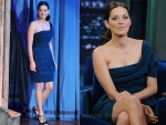 Marion Cotillard In Lanvin – Late Night With Jimmy Fallon