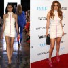 Jennifer Lopez In Camilla and Marc &amp; Falguni and Shane Peacock  iHeartRadio Music Festival