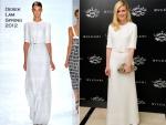 Kirsten Dunst In Derek Lam – Bulgari Le Gemme Eyewear Collection Launch