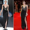 Milla Jovovich In Salvatore Ferragamo – 'The Three Musketeers' World Premiere