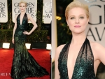 Evan Rachel Wood In Gucci Première – 2012 Golden Globe Awards
