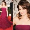 Tina Fey In Oscar de la Renta – 2012 Golden Globe Awards