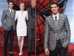 Andrew Garfield In Gucci – Germany Premiere of 'The Amazing Spider-Man'