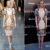 Emma Stone In Dolce &#038; Gabbana  Madrid Premiere of The Amazing Spider-Man
