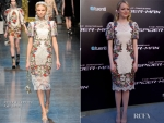 Emma Stone In Dolce & Gabbana – Madrid Premiere of 'The Amazing Spider-Man'