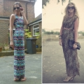 Fashion Trend Street Style Spot: Maxi Dresses