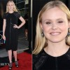 Alison Pill In Kevan Hall  HBOs The Newsroom Premiere