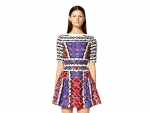 Kaleidoscopic Prints offered by Peter Pilotto's Resort 2013 Collection