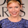 Michelle Williams @ The Golden Globes Awards Makeup by Chanel Celebrity Makeup Artist Angela Levin