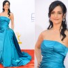Archie Panjabi In Randi Rahm  2012 Emmy Awards