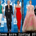 Collection of Reem Acra Spring 2013