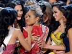 Miss USA 2012 Receive Congratulation