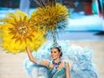 Miss Universe 2012 Uruguay, USA, Venezuela, Vietnam