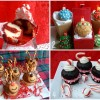 Reindeer Christmas Cupcakes