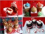 Reindeer Christmas Cupcakes