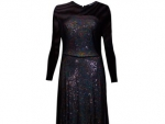 Sequine bodice, Velvet, Asymmetric, Glitter Shift Christmas dresses
