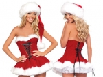 Teen Girls Sexy Christmas Party Dresses 2012