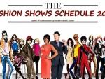 Fashion Shows Schedule 2013