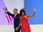 Inaugural Ball Dress of Michelle Obama: Red Hot in Jason Wu
