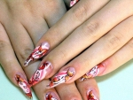 Floral Perfect Wedding Nail Designs