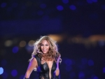 BEYONCE Performs at Super Bowl Halftime Show
