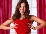 Barbara Palvin Models Valentine Lingerie For Victoria's Secret 2013