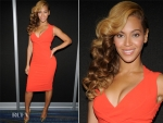 Beyonce Knowles Wearing Antonio Berardi – Radio Row