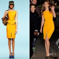 Jennifer Lawrence Wearing Emilio Pucci Dress – Jimmy Kimmel Live