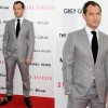 Jude Law Wearing Tom Ford Collection Side Effects New York Premiere