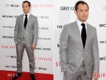 Jude Law Wearing Tom Ford Collection 'Side Effects' New York Premiere