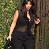 KIM KARDASHIAN Leaving her Home in Los Angeles Pictures