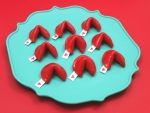 Make Fun with Small Fortune Cookies on Valentine's Day